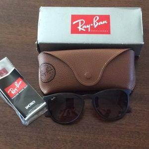Ray-Ban Erika brown tortoise sunglasses